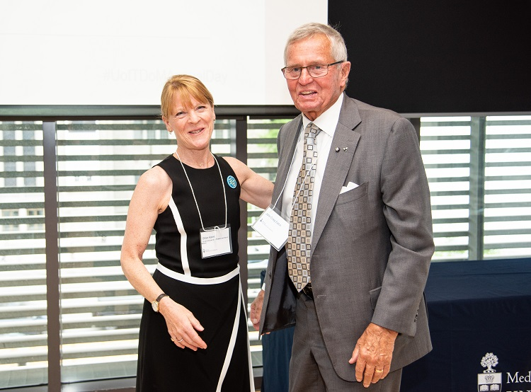 Dr. Gillian Hawker and Mr. John Eaton